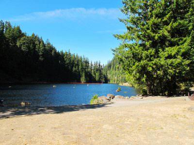 Lake Harriet Campground Oregon