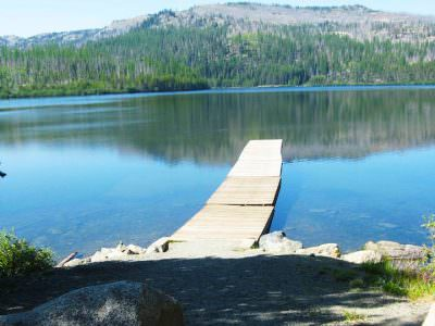 Olive Lake Campground, Blue Mountains, Eastern Oregon