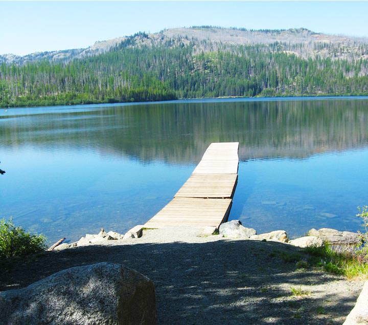 Olive Lake Campground, Blue Mountains, Eastern Oregon ...