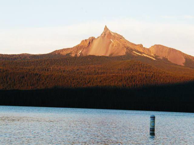 Thielson View Campground, Diamond Lake, Oregon