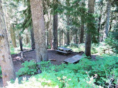 High Rock Springs Campground