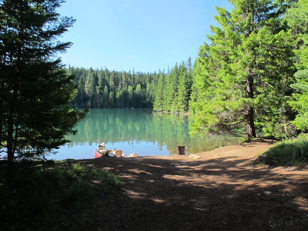 Timothy lake oregon camping swimming fishing more for Fish lake camping