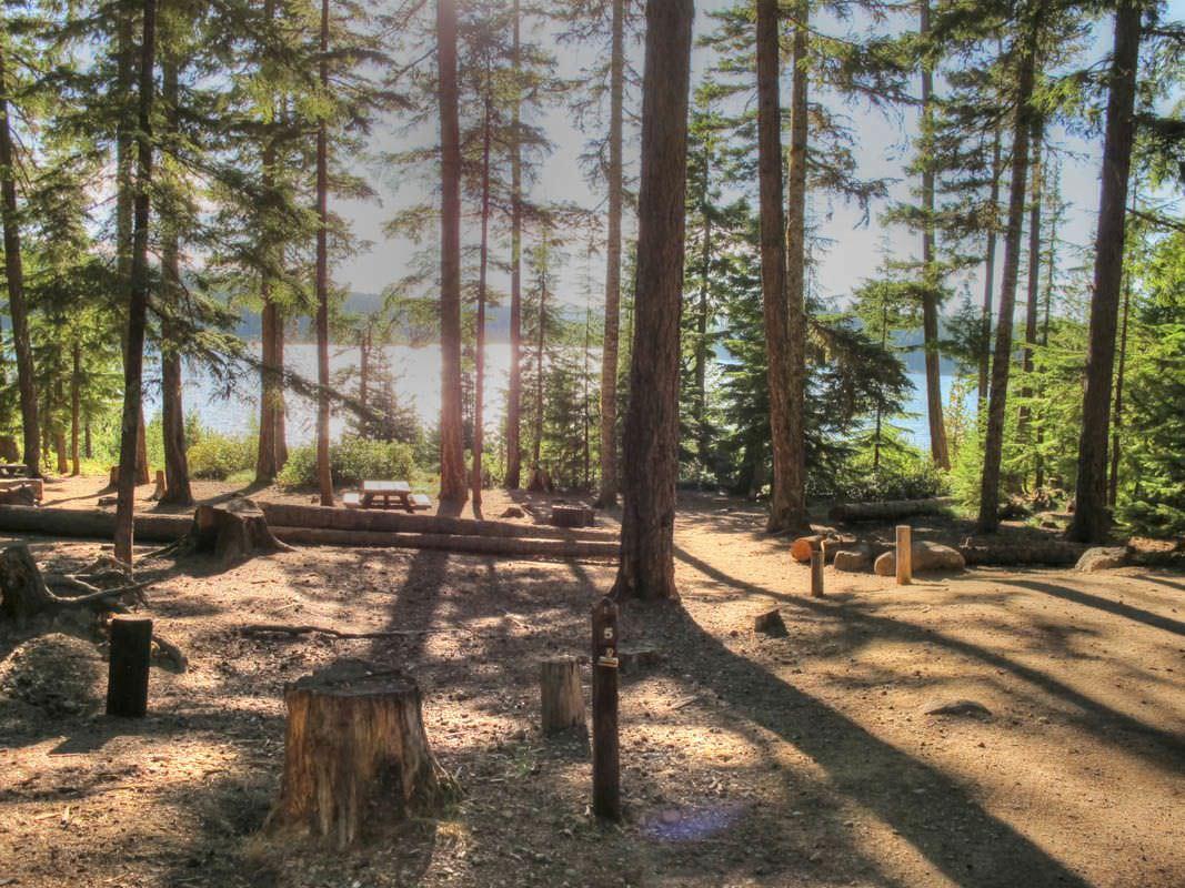 Clear Lake Campground, Mt. Hood - Oregon