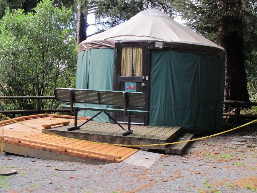 Harris Beach State Park Campground Brookings Oregon