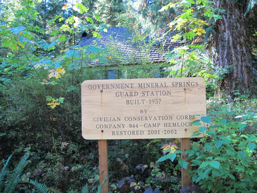 Government Mineral Springs Campground, The Gorge