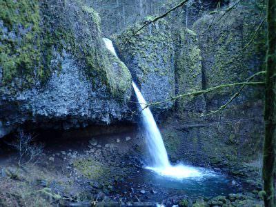 ponytail falls waterfall