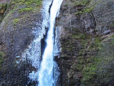 horsetail falls waterfall