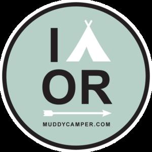 I CAMP Oregon Sticker