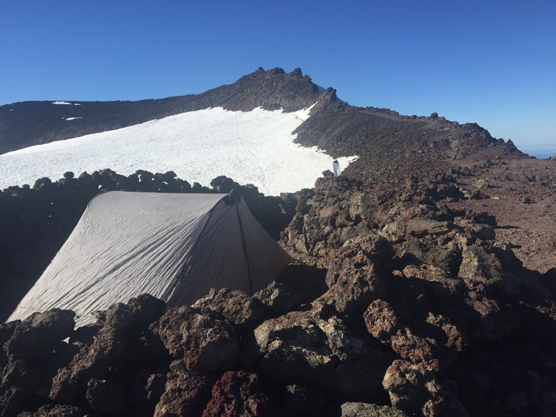 Tent Camping on South Sister