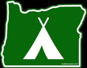 Oregon Tent Sticker